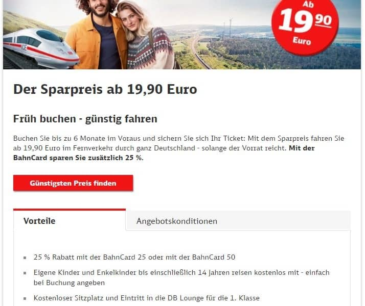 DEAL-SCREENSHOT SPARPREIS