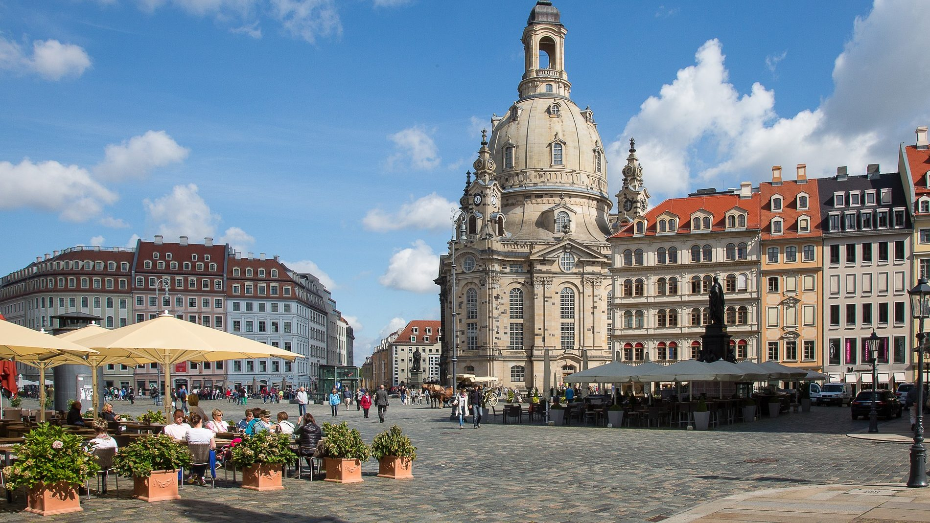 Dresden mit der Bahn